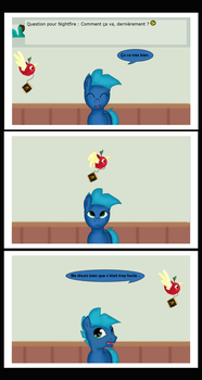 Question time 56: Ca va by stashine-nightfire