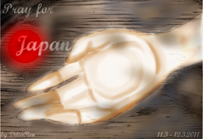 Pray for Japan by DiliaRen