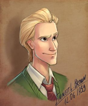 Emmett L. Brown by LordSiverius