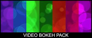 Video Loop Bokeh Background by CommunicAnimation