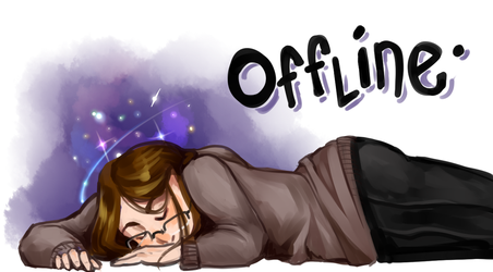 My Offline Screen for Twitch by kirsten7767