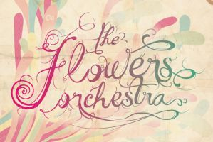 the flowers orchestra - logo by Par4noid