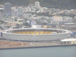 Wellington Stadium by AJChimaera
