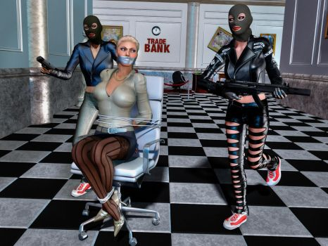 Bank manager kidnapped by carmag34