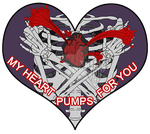 Valentine Exchange 2017 - my heart pumps for you by Championx91