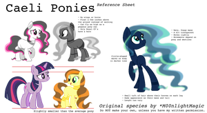 Caeli Ponies - Reference Sheet by M00nlightMagic