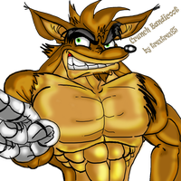 Crunch Bandicoot XD by trextrex65