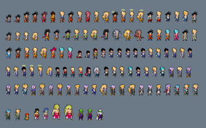 (Unfinished) DBZ Large Project by MacXxtak