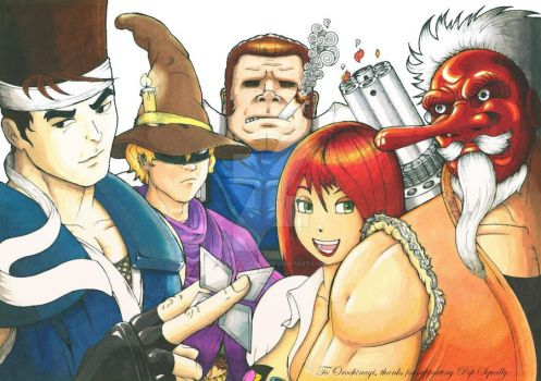 neo geo force by pop-squally