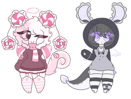 Closed Lacey Adopts #5-6 by Mintu-Bun