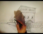 How to draw old House Video Tutorial by artsoni