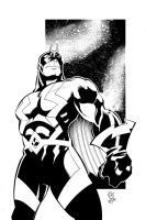 Adam Frizzel BlackBolt by NickSchley