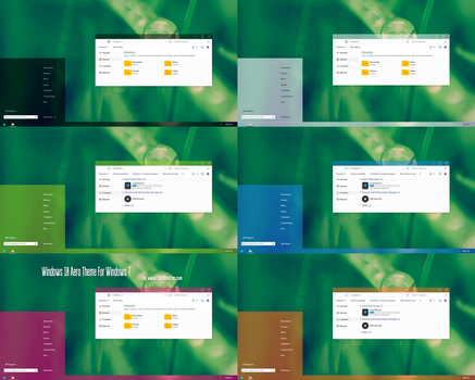 Windows 10 Aero Theme for Windows 7 by Cleodesktop