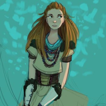Aloy WIP by Auracy