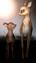 Deer Doodle by iLucky7