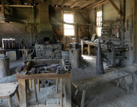 Blacksmith Shop I by mmad-sscientist