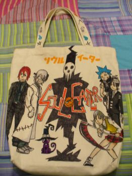 Soul Eater Bag by Peace-love-frogs