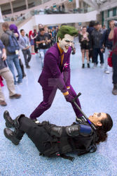 Stan Lee's Los Angeles Comic Con Cosplay Joker by Bobby-Goku