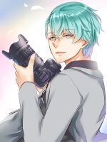 Mystic Messenger: V by rossomimi