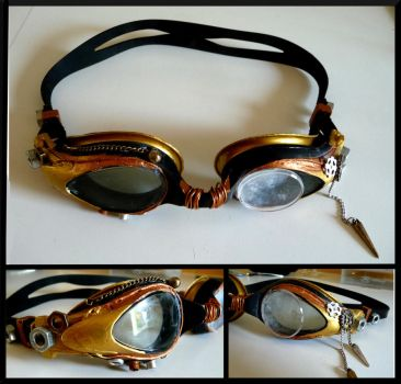 Steampunk goggles by Donjons