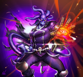Commission: The Glyph by kevinTUT