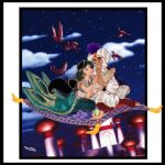 JASMINE AND ALADDIN,FAIRYTALE DISNEY!!! by Rob32