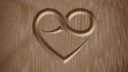 Polyamory Wallpaper - Wood by Tiberius47