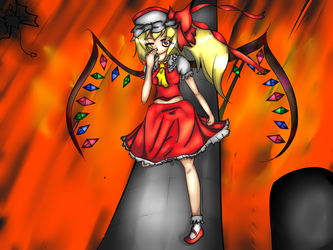 Rebirth || Flandre Scarlet by x3Lielliax3
