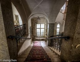 Marble Staircaise by stengchen