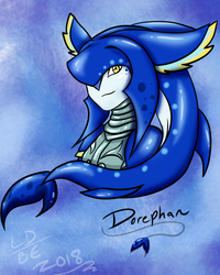 Prince Dorephan (Full Colored Version) by LightningDraco