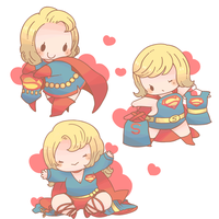 super girl by and38upaco