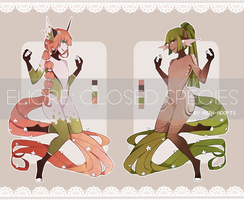 [CS: ELIORE] Woodland Girls [CLOSED] by rein-adopts