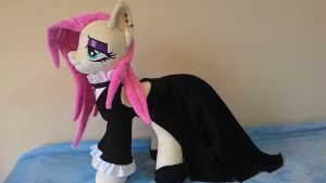 MLP plush-Fluttershy Goth-for sale! by Masha05