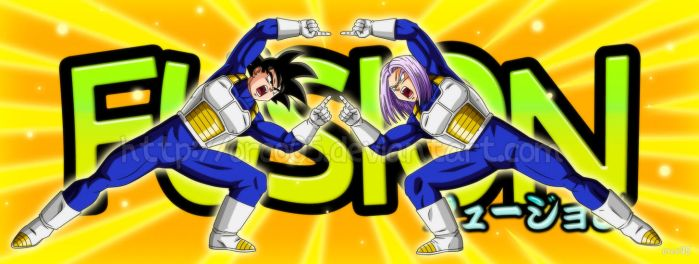 Fusion! - Goku and Trunks by orco05
