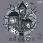 Halloween Clubhouse - tee by InfinityWave
