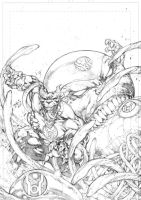 Cover Red Lantern 03 by Ed-Benes-Studio