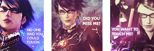 Bayonetta icons by vizune