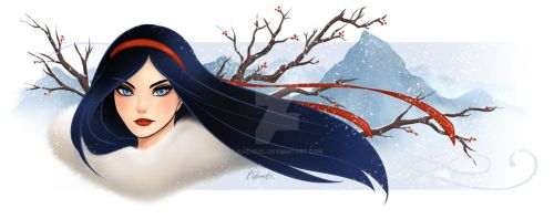 Winter Lady by Saehral