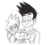 Goten and Goshinn by 0-MidnightBioshock-0