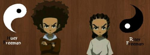 The Boondocks brothers by hibrido6