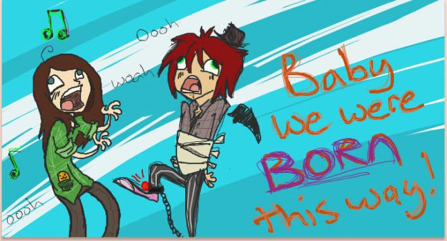 Born this way by drawn-by-Linzee