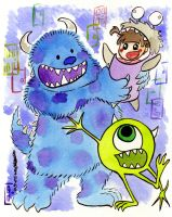 Monsters, Inc by JoJo-Seames
