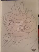 Cadance Headshot by Jaywalk5