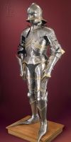 Gothic Armour - Full View. by Ageofarmour