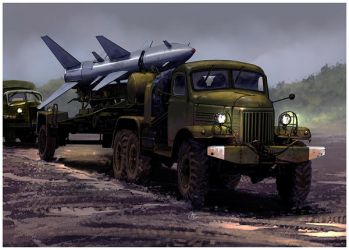 ZIL 157 with SA2 by dugazm