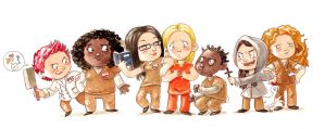 Orange is the New Black by Gigei