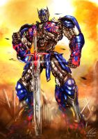 Optimus by niekholest