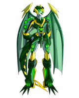 RQ. Beautiful predacon by Madnessgrowl