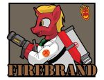 Firebrand Team Fortress 2 by Samoht-Lion