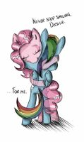 Commish: Never Stop Smiling by twilightSPC